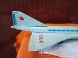 Игрушка ,самолет.ТУ-144,СССР., фото №10