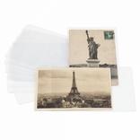Защитные обложки для открыток до 145*95 мм, полипропелен,  354682