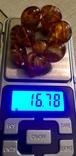 Браслет из янтаря 16,78 гр., фото №2