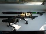 Удилища телескопические, с катушками и леской 2 шт., фото №2