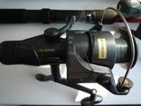 Удилища телескопические, с катушками и леской 2 шт., фото №4