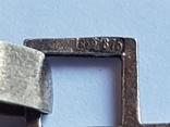 Советский подвес. Серебро 875*. Позолота. Вес 4.91 г., фото №5