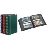 Альбом многоцелевой для 200 открыток,писем, конвертов, фотографий, зеленый,  336487