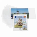 Зашитные обложки для открыток до 150*107 мм, полипропелен, 354683