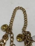 Золотистый браслет от Итальянской компании ROAM, фото №5