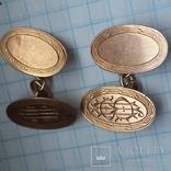 Запонки золотые ., фото №2