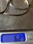 Винтажная Итальянская цепочка(серебро 925,клейма), фото №8