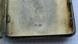Портсигар серебро 84пр. модерн именник А.Ф, фото №7