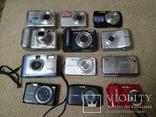 Фотоаппараты цифровые 12шт (ремонт), фото №2