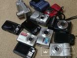 Фотоаппараты цифровые 12шт (ремонт), фото №12