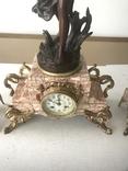 Французские каминные часы, фото №4