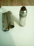 Старинная бензиновая или керасиновая зажигалка., фото №5