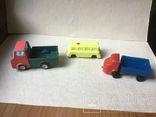 2 грузовика и микроавтобус,  времен СССР., фото №2
