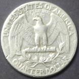 25 центів США 1960 срібло, фото №3