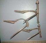 Три серебряные фибулы ЧК ., фото №8