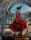 Париж - город мечты.худ. Березина Карина