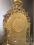 Часы каминные с подсвечниками. Из Италии., фото №4