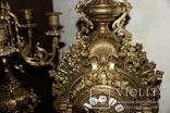 Часы каминные с подсвечниками. Из Италии., фото №9