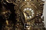 Часы каминные с подсвечниками. Из Италии., фото №11