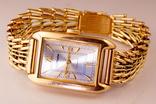 Золотые часы с браслетом 585 пробы, фото №2