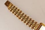 Золотые часы с браслетом 585 пробы, фото №8