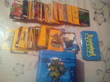 Коллекцыоные картки Ниндзя черепашки 305 шт., фото №3
