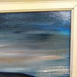 """Пейзаж """"Галльские сумерки""""51.5/76 см. м/к. 1970 год.С.А. Turchyn (England), фото №7"""