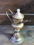 Керосиновая лампа. Винтаж. Европа. фото 3