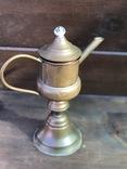 Керосиновая лампа. Винтаж. Европа. фото 5