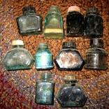 Бутылочки из под чернил 50-70 годов., фото №2