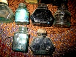 Бутылочки из под чернил 50-70 годов., фото №4