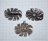 Гарнитур серьги перстень(на ремонт), серебро 925 пр. Украина, фианиты - 18 гр., фото №10