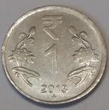Індія 1 рупія, 2013 фото 1