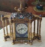 Годинник на камін в стилі КЛУАЗОНЕ., фото №2