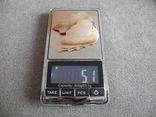 Серьги лепестки Перламутр вес 5,1 гр, фото №7