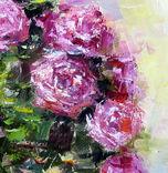 ,,Розы,, 47- 60 см.холст.масло.А.Горб, фото №4