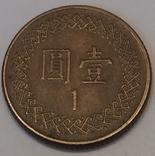 Тайвань 1 долар, 1981