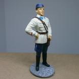 Лейтенант ВВС РККА в летней форме. 1941. Олово, раскрас, фото №3