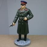 Офицер НКВД в повседневной форме 1941-1943. Олово, раскрас, фото №2