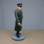 Офицер НКВД в повседневной форме 1941-1943. Олово, раскрас, фото №4