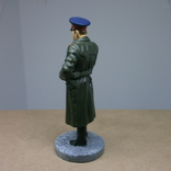 Офицер НКВД в повседневной форме 1941-1943. Олово, раскрас, фото №7