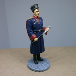 Офицер кубанских казачьих частей в парадной форме 1943-1945. Олово, раскрас, фото №4