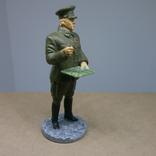 Генерал-лейтенант в походной форме 1941-1943. Олово, раскрас, фото №3
