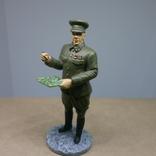 Генерал-лейтенант в походной форме 1941-1943. Олово, раскрас, фото №8