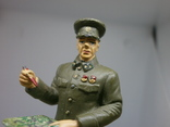 Генерал-лейтенант в походной форме 1941-1943. Олово, раскрас, фото №9
