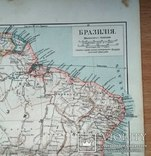 Карта Бразилия до 1917 года, фото №2