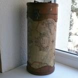 Тубус для бутылки или просто шкатулка. карта. 30см, фото №2