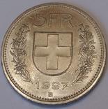 Швейцарія 5 франків, 1997 фото 2