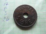 5 ЭРЕ  1940  Дания   (,Р.3.26)~, фото №4
