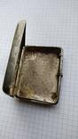Таблетница табакерка серебро 84пр. именник АК, фото №3